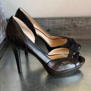 Gianni Bini black heels size 6.5